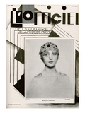 L'Officiel  March 1928 - Mlle de Rowera