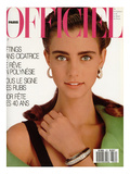 L&#39;Officiel  May 1987 - en Hommage &#192; Christian Dior  une Cr&#233;ation de Marc Bohan