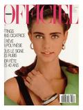 L'Officiel  May 1987 - en Hommage À Christian Dior  une Création de Marc Bohan