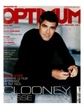 L'Optimum  February 2002 - George Clooney