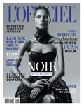 L'Officiel  November 2010 - Noir Is Beautiful  Kasia