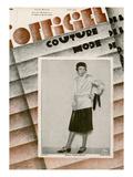 L'Officiel  April 1929 - Nicole Groult