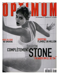 L'Optimum  December 1998-January 1999 - Sharon Stone
