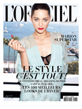 L&#39;Officiel  August 2009 - Marion Cotillard