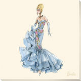 Barbie™  Blue Dres