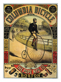Columbia Bicycles Poster