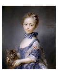 Perronneau: Girl  1745