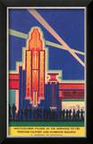 Art Deco Entrance  Chicago World's Fair