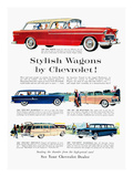 Station Wagon Ad  1955