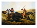 Buffalo Hunt  1862