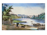 Harlem High Bridge  1849