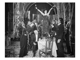 Silent Film Still: Parties