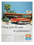 Chevrolet Ad  1957