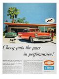 Chevrolet Ad  1957