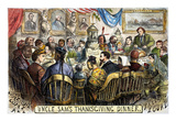 Thanksgiving Cartoon  1869