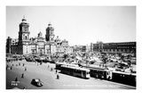 Mexico City: Zocalo  c1930