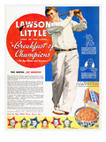 Cereal Advertisement  1937