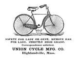 Bicycle Advertisement  1890