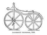 Velocipede  1866
