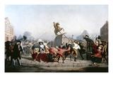 King George III Statue  1776