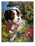 Currier and Ives: Dog  1866