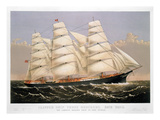 Clipper Ship  1875
