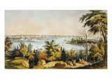 New York City View  1849
