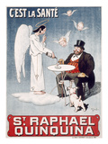 French Alcohol Ad  c1900
