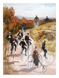 Bicycling  1887