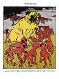 Labor Cartoon  1904