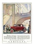 Cadillac Ad  1928