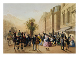 Guerard: Cafe Tortoni  1856