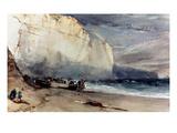 Bonington: Cliff  1828