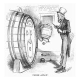 Whiskey Ring Cartoon  1876
