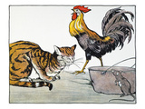 Aesop: Cat  Cock  and Mouse