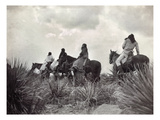 Apache on Horseback  c1906