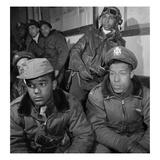 WWII: Tuskegee Airmen  1945
