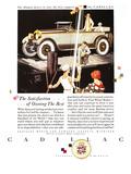 Cadillac Ad  1925