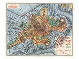 Map: Boston  c1880