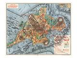 Map: Boston  c1880