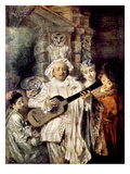 Watteau: Gilles and Family