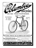 Bicycle Ad  1896