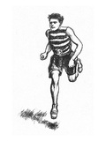 Athletics: Runner  c1900