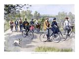 Bicycle Tourists  1896