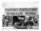 Evans: Garage  1936