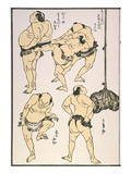 Sumo Wrestlers  1817