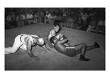 Wrestling Match  1938