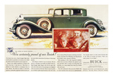 Ads: Buick  1932