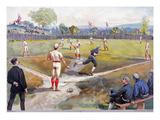 Baseball Game  c1887