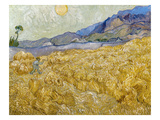 Van Gogh: Wheatfield  1889